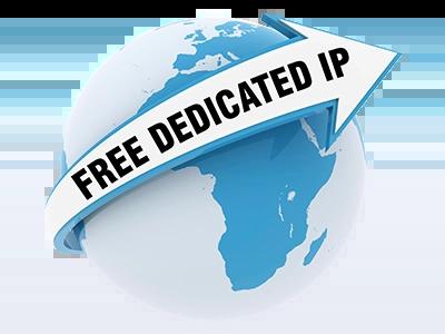 free dedicated ip